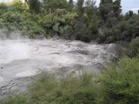 First up, a lovely pool of bubbling mud.