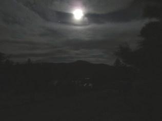 2:30: Moon over Gross Reservoir