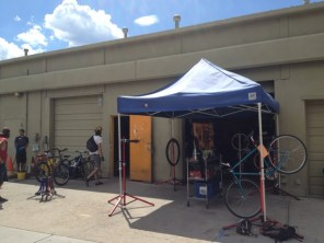 Working at Community Cycles