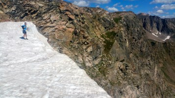 Mile 733: Aug 12, Challenger Glacier. This is a very heady spot.