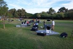 Telescope practice #1 (photo by RJ? Trina? Someone else)