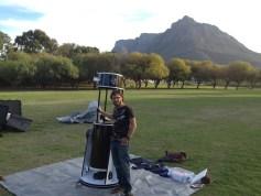 Jason with telescope #13.