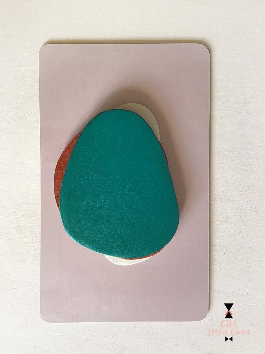 sous-verre-en cuir forme arp CDA Petites Choses