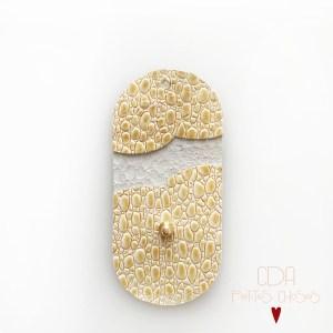 mini-pochette-en cuir jaune-paille 2 CDA Petites Choses