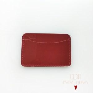 porte-cartes-double-en-cuir-vernis-rouge-1 CDA Petites Choses