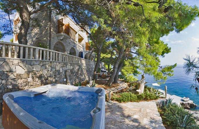 Villa Rental Luxury Escape Of The Day Dalmatian Coast
