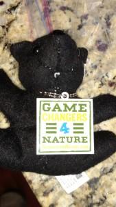 Teddy Bear Trackable, geocaching, trackables