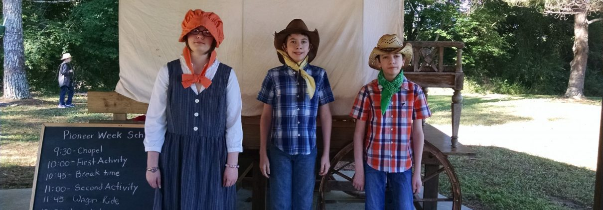Homeschooling, Pioneer Week, children