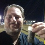 Night Caching In Dalton, First to finds