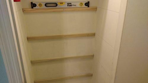 back Shelf Braces