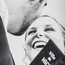 La Cérémonie - Le baiser des Mariés