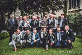 Les photographies de groupes - Les hommes en photo
