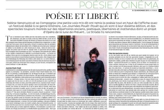 Photographie Sabine Venaruzzo - La Strada - portrait - art de la scène