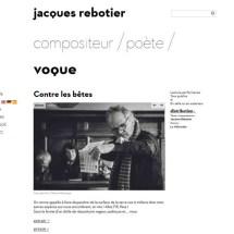 """""""Contre les Bêtes"""" - 2016 Eric Clément-Demange - Jacques Rebotier"""