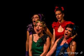 Spectacle Les Quatre Barbu(e)s - Festival d'Avignon 2015 - Une Petite voix m'a dit