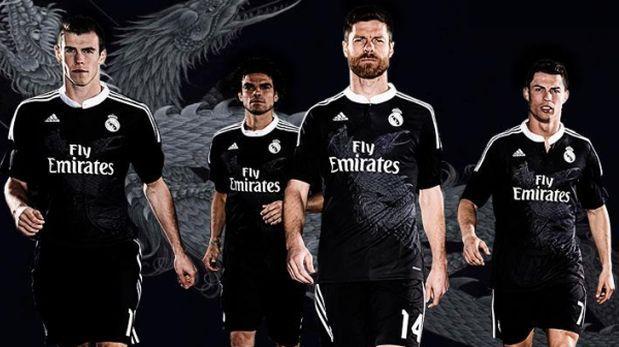 Resultado de imagen de real madrid camiseta dragon