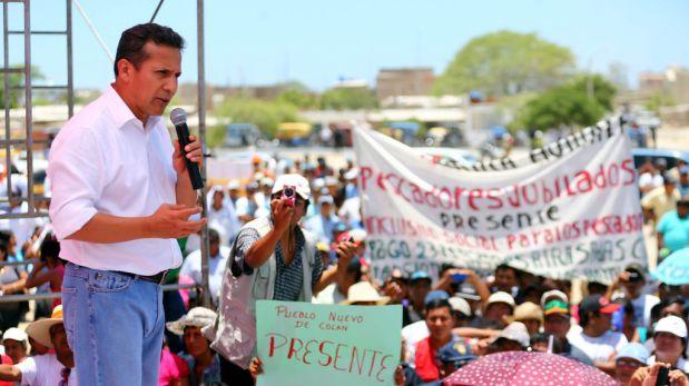 """Humala en Moquegua: """"Aquí le hicimos el pare a esa dictadura"""""""