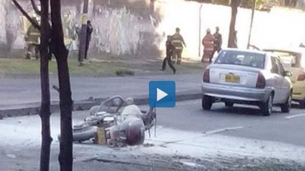 Atentado en Colombia: Bomba dejó al menos 8 heridos en Bogotá