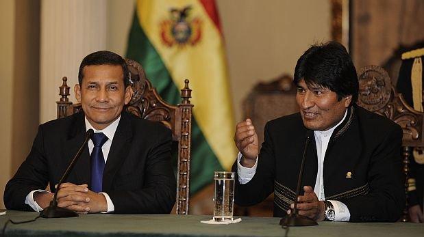 Humala y Morales presidirán el 23 de junio gabinete binacional