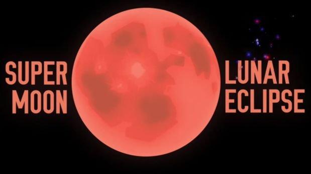 Así será el eclipse de súper Luna del 27 de septiembre