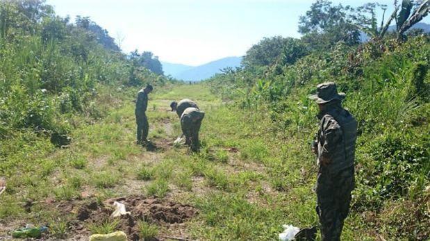 Vraem: inhabilitan 15 pistas de aterrizaje clandestinas