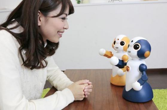 Robots interactivos de uso doméstico invaden Japón