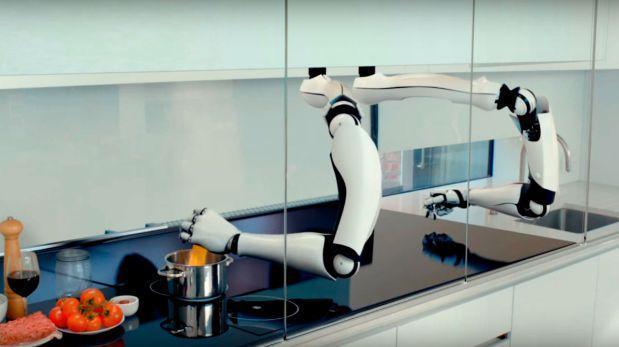 Mira esta sorprendente cocina del futuro que usa robots [VIDEO]