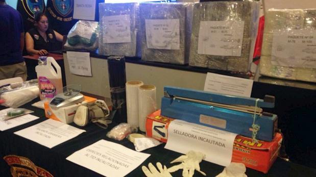 Callao: policía incautó 142 kilos de cocaína que iban a EE.UU.