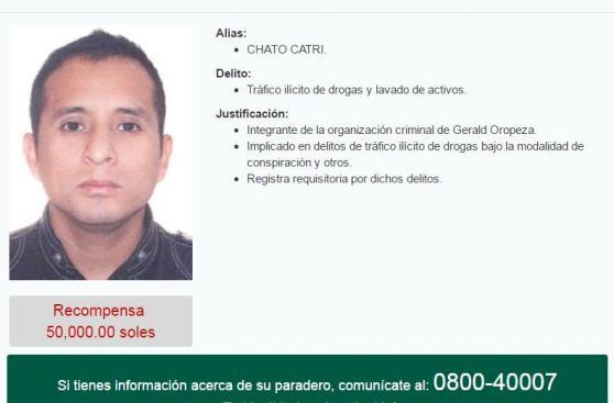 Reportan captura de Carlos Sulca, mano derecha de Oropeza