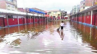 [Foto] Lluvias agravan daños en diferentes regiones del país