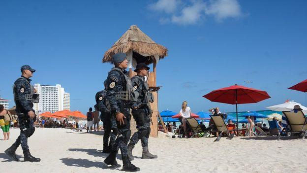 Image result for violencia en playa del carmen