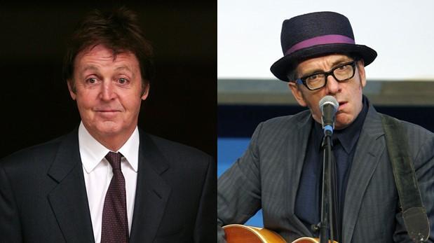 Paul McCartney y Elvis Costello hablan del álbum que nunca fue