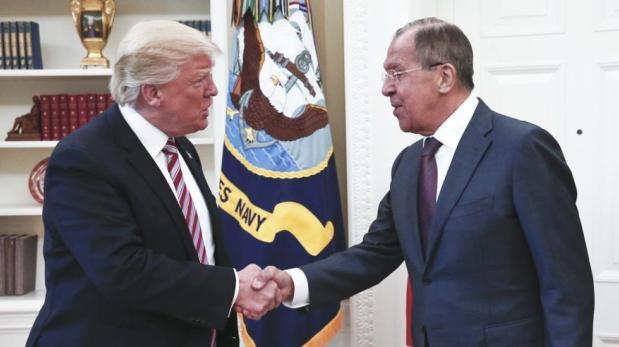 ¿De qué hablaron Trump y el canciller ruso en la Casa Blanca?