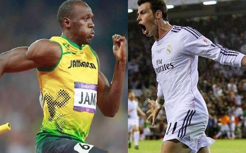 Usain Bolt felicitó a Gareth Bale por su golazo ante Barcelona