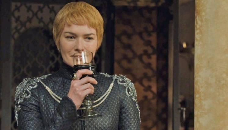 Resultado de imagen de cersei lannister vino