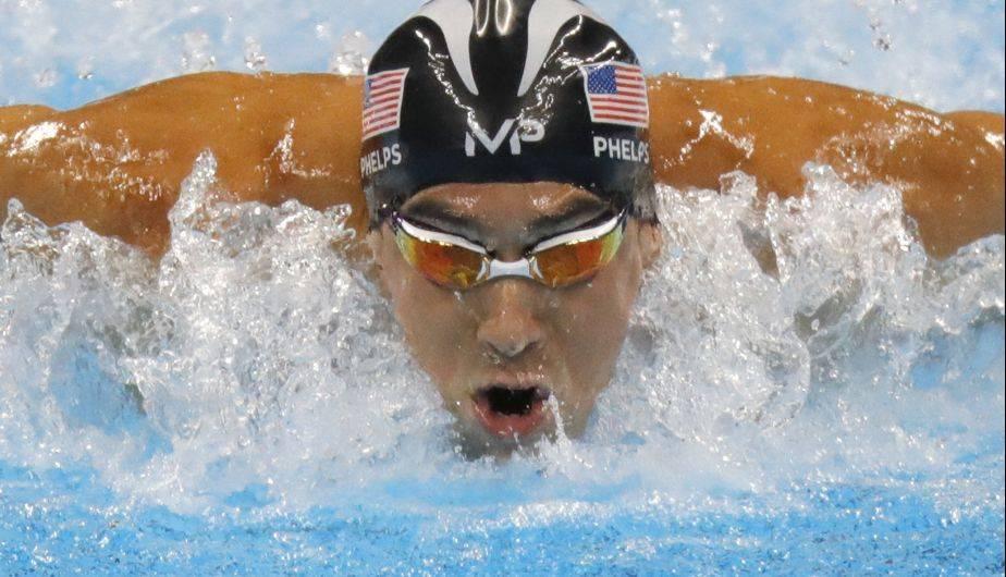 Resultado de imagen de foto oficial Michael Phelps Usain Bolt en Río-2016