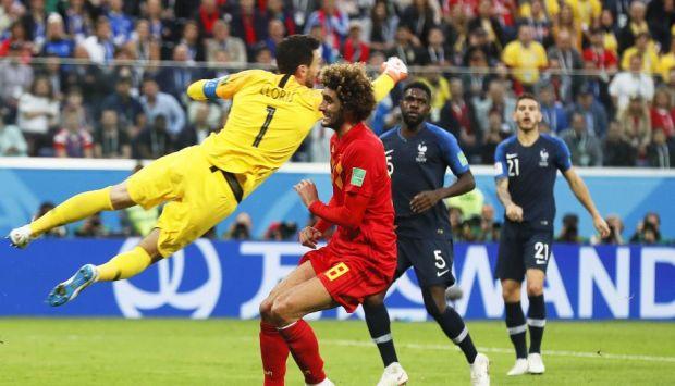 Resultado de imagen para francia 1 belgica 0