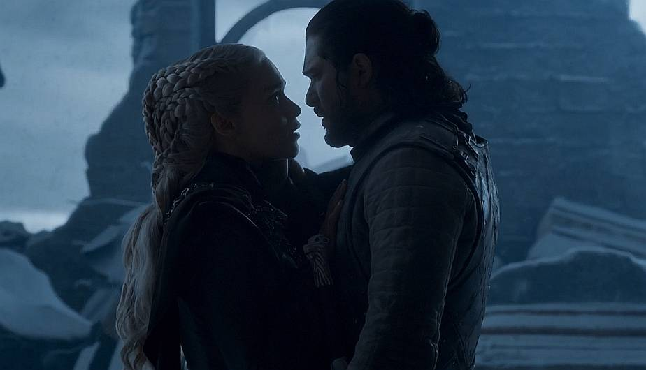 game of thrones jon y daenerys