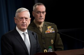 SD and CJCS joint press conference on Syria air strikes
