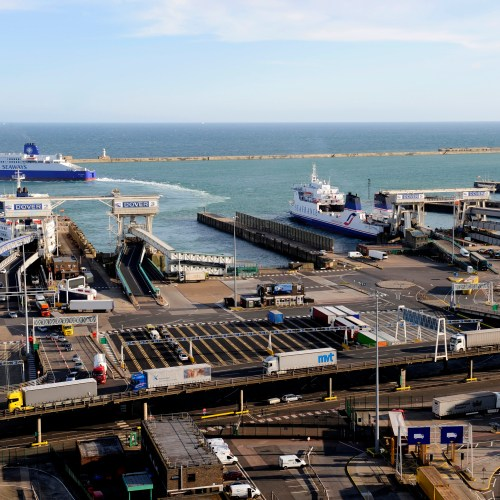 A man has been charged with smuggling after a child was found in a suitcase at the Port of Dover