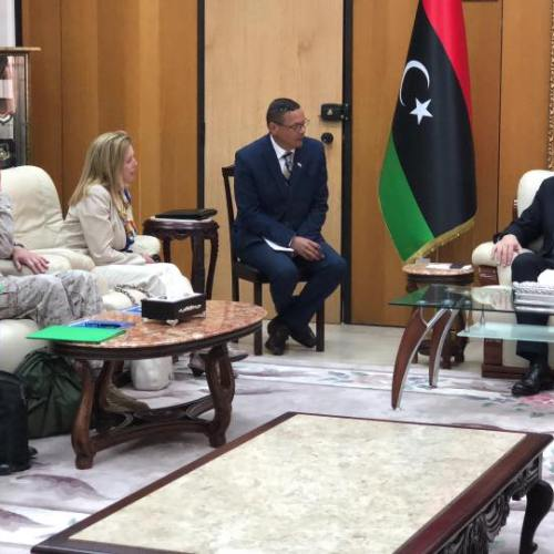 US confirms its commitment to a stable, democratic and united Libya