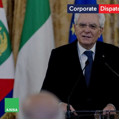 """Mattarella : """"Let the face of this Republic be a human one"""""""
