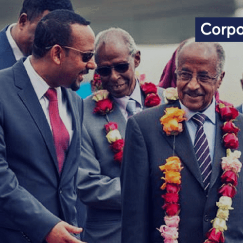 Eritrean President arrives in Ethiopia