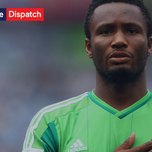 Nigerian player was told about his father's kidnap just hours before match against Argentina