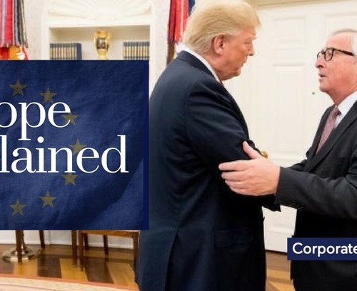 Breaking News – USA – EU agree on Trade (Updated)