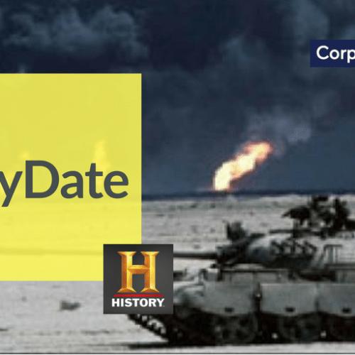 On This Day, 1991 Iraq invades Kuwait
