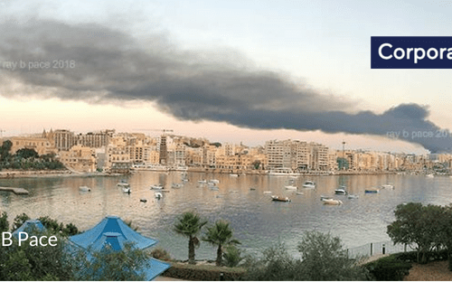 Developing Story – Major fire broke out at Wasteserv in Magħtab (Updated)