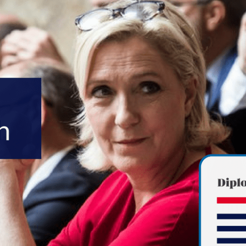 Le Pen hedging on Salvini's wave for MEP elections