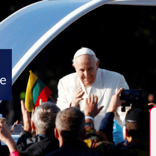 Pope Francis appeals against the growing anti-semitism