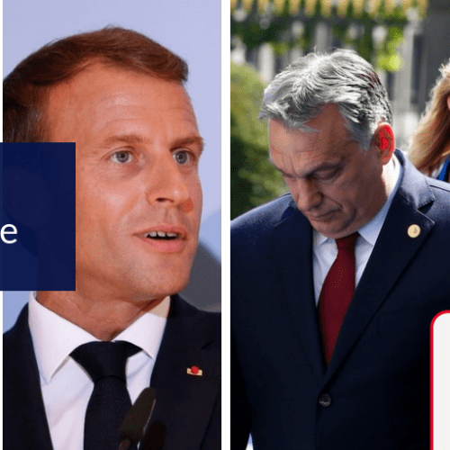 EPP cannot be on the side of Merkel and Orban at the same time – Macron